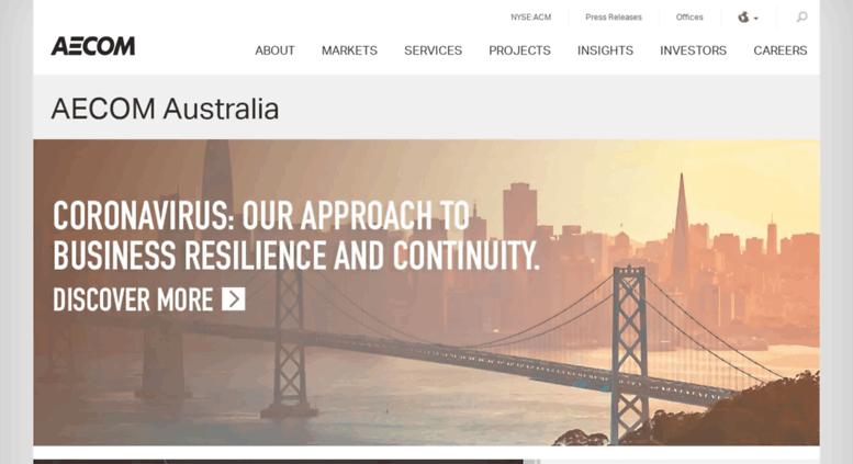 Access ap.urscorp.com. Australia – AECOM