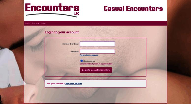 Casual encounters uk