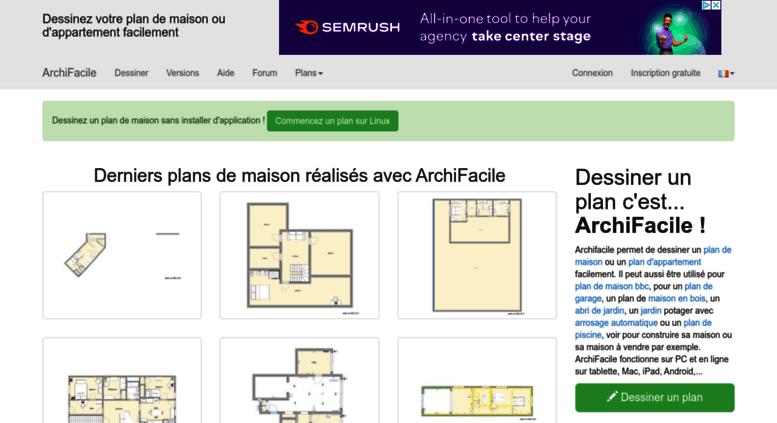 Access Archifacilefr Plan De Maison Et Plan Dappartement GRATUIT - Programme pour plan de maison
