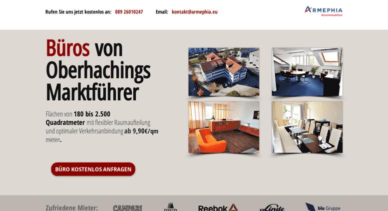Access Armephia Eu Buros In Oberhaching 20 Minuten Nach Munchen