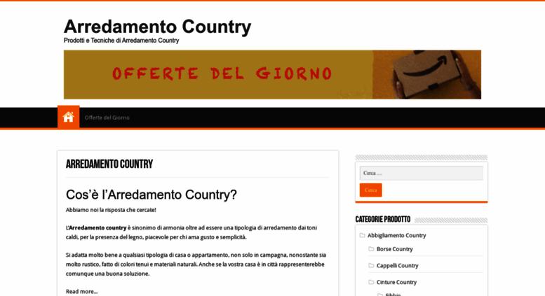 Camere Da Letto Stile Country Roma : Mobili country roma