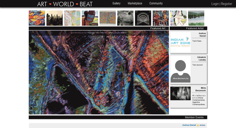 Access Artworldbeat Com Contemporary Fine Art Artists Websites
