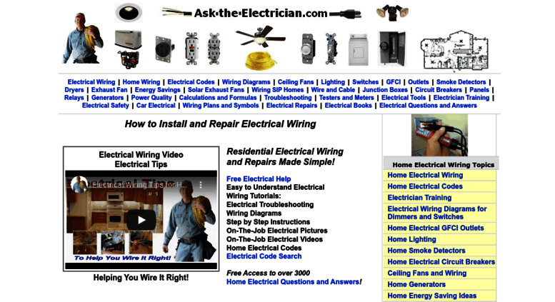 Access ask-the-electrician.com. Electrical Repairs Electrical ...