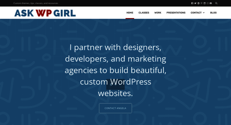 Access Askwpgirl Wordpress Websites Design And Classes In