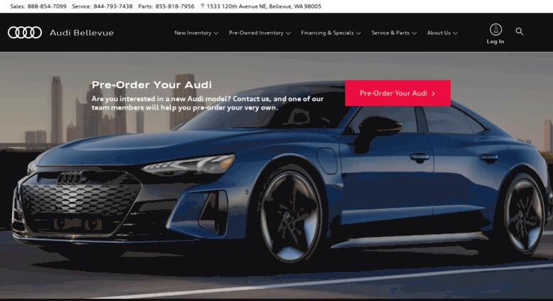 Access Audibellevuecom Audi Bellevue Audi Dealer Near Me - Audi dealership near me