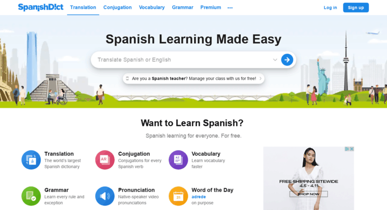 Access audio.spanishdict.com. SpanishDict | English to ... - photo#30