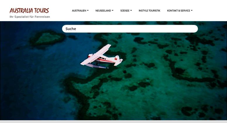 Access australiatours.de. Reisen nach Australien und Neuseeland ...