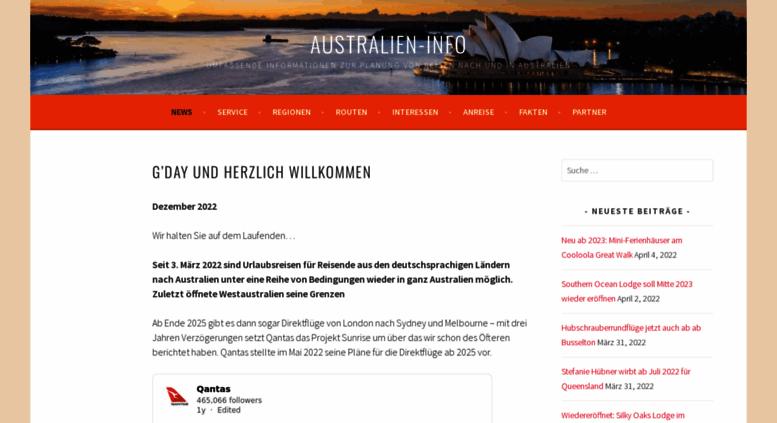 Access australien-info.de. AUSTRALIEN-INFO.DE • Australien ...