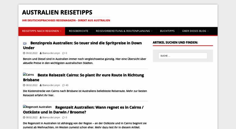 Access australien-reisetipps.de. Australien Reisetipps - live aus ...