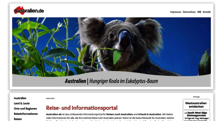 Access australien.de. Australien: Australien.de: Australien.de