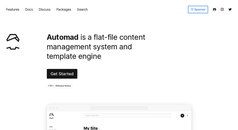 Access automad.org. Automad / An Open Source File-Based Content ...