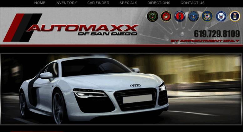 Access automaxxsdcom Automaxx  Used Cars  Spring Valley CA Dealer