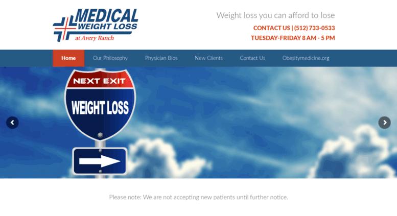 Access Averyranchweightloss Com Home Medical Weight Loss At Avery