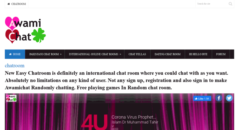 Free chat without registration
