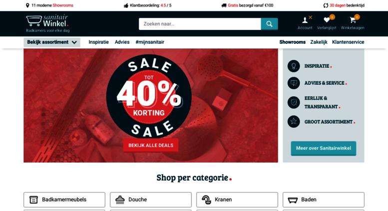 Access badkamerconcurrent.nl. Badkamerconcurrent | Tot 70% korting ...