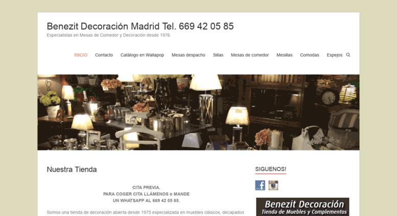 Access mesas de comedor clasicas tienda de for Muebles antiguos madrid