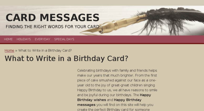 Access Birthdaywishesbi What To Write In A Birthday Card Card