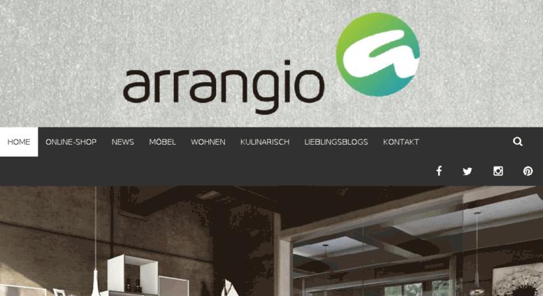 Blog.arrangio.de Screenshot