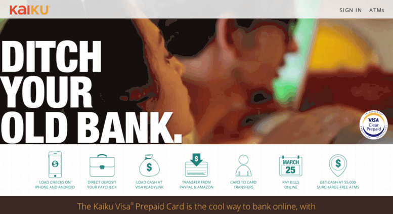 blogkaikucom screenshot - Kaiku Visa Prepaid Card