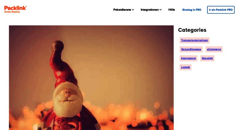 blog.packlink.de screenshot