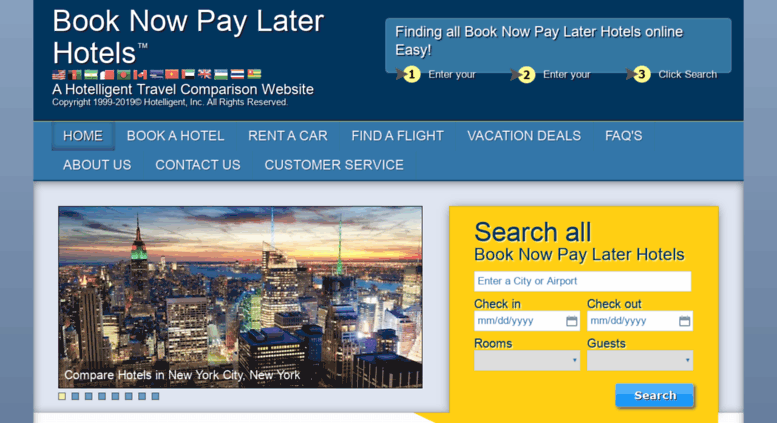 Access Book Now Pay Later Hotels