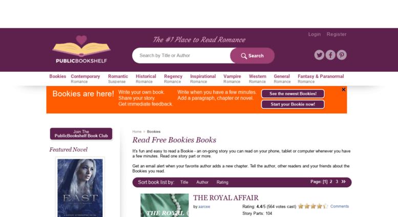 Access Bookiespublicbookshelf Read Bookie Stories Online