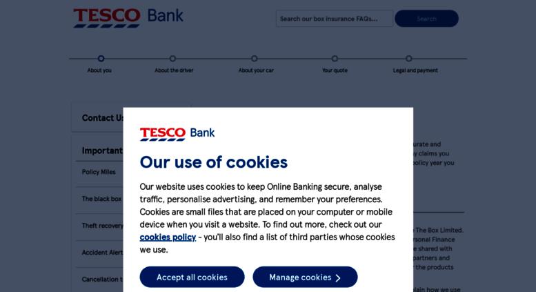 Tesco Bank Box Car Insurance Phone Number Raipurnews