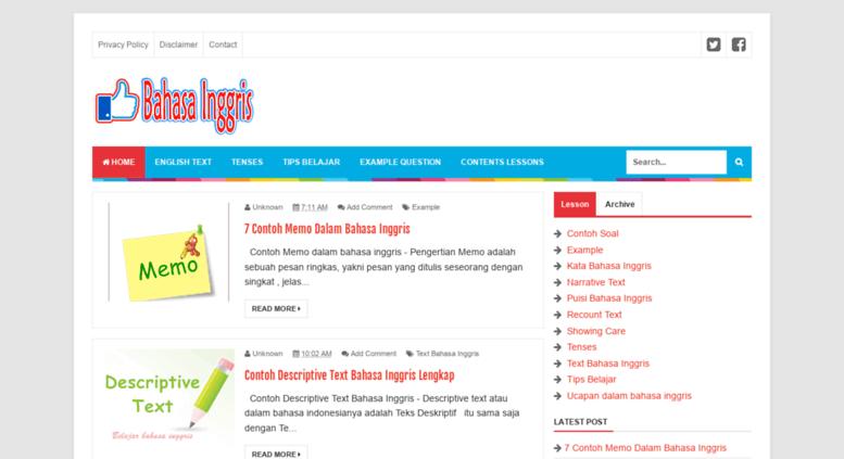 Access Brechonana Blogspot Com Belajar Bahasa Inggris