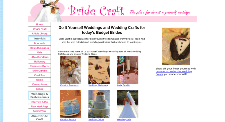 Access bridecraft do it yourself weddings wedding craft ideas bridecraft screenshot solutioingenieria Choice Image