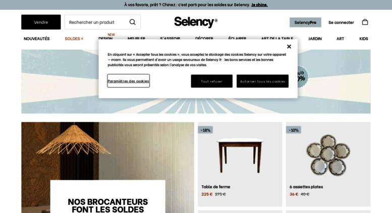 Access brocantelab.com. Meubles d'occasion et Deco vintage  Selency ...