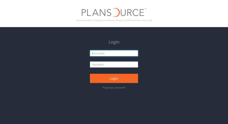 plansource login