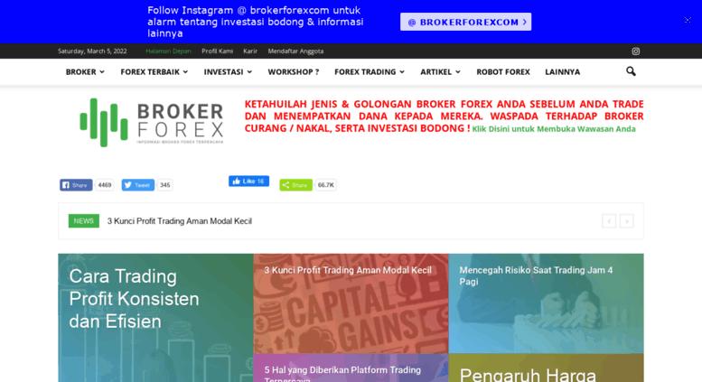 Broker forex terbesar