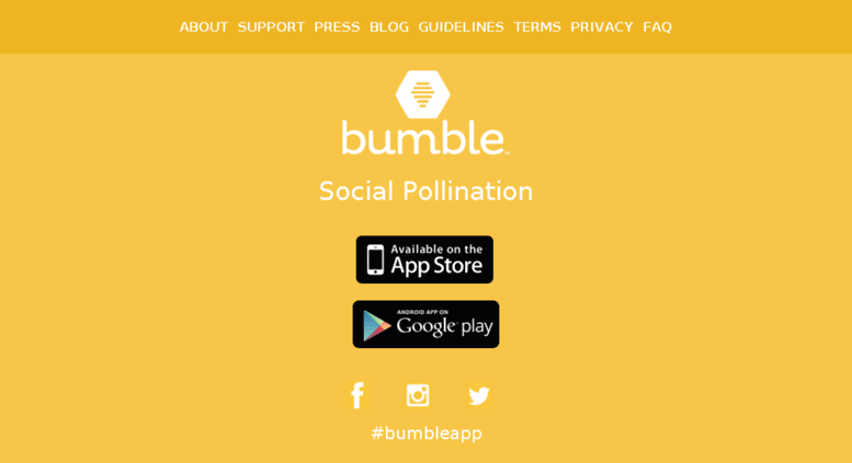 Bumble google play store