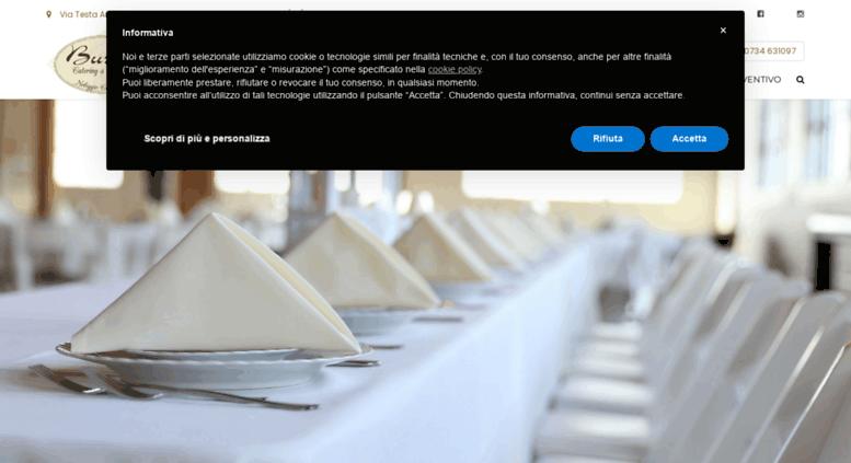 Access buratticatering.it. Buratti Catering e Banqueting, noleggio ...