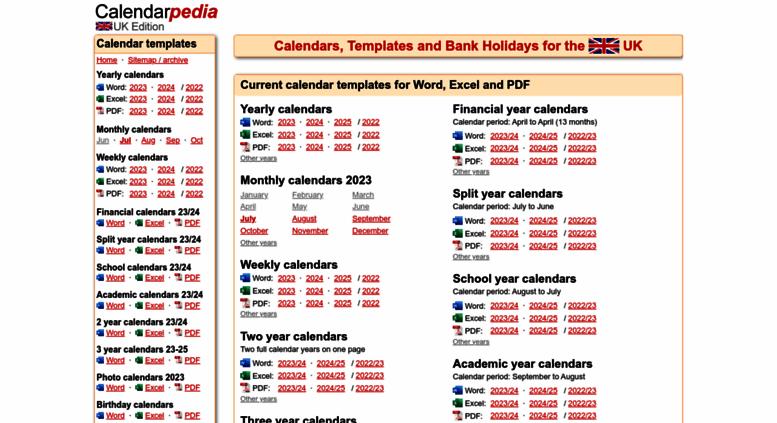 access calendarpedia co uk calendarpedia uk edition your source