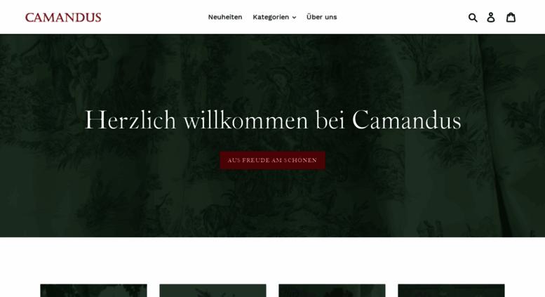 Camandus.de Screenshot