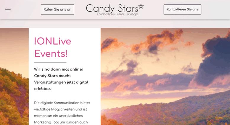 candy starseu screenshot - Bewerbung Model