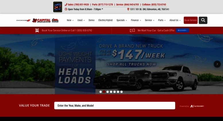 Capitaljeep.com Screenshot