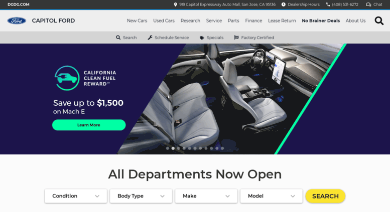 Access Capitolford Com Capitol Ford San Francisco Bay Area Ford