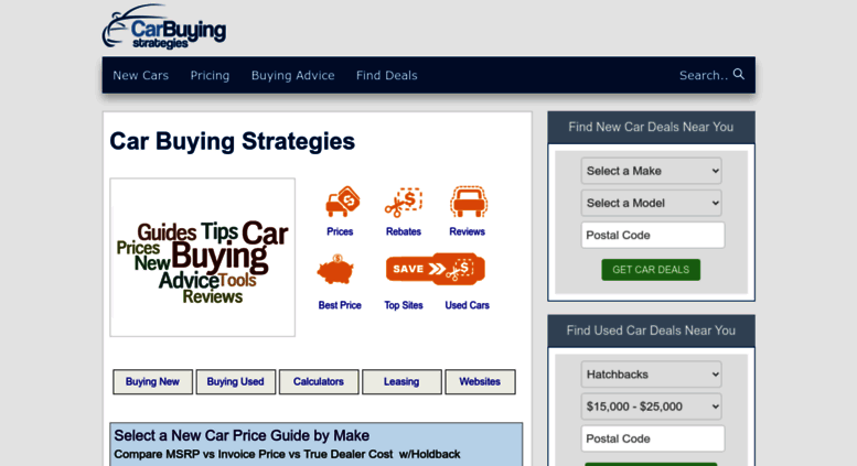 Access Carbuyingstrategiescom Car Buying Strategies Tips - Car buying strategies dealer invoice