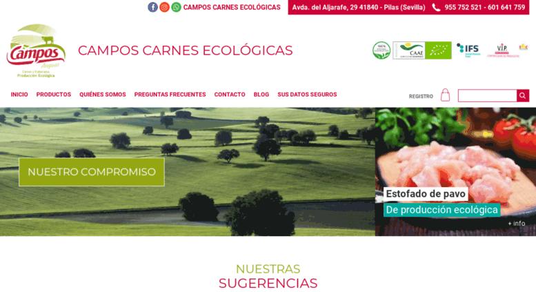 access carneecologica. campos carnes ecológicas – tienda online