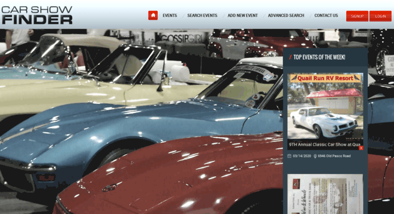 Access Carshowfinderorg Car Shows Auto Events Local Car Shows - Car show finder