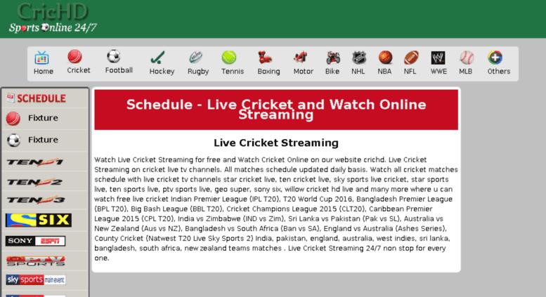 crichd live Access cdn25.crichd.in. Star Sports 1 - Star Sports 1 Live Streaming ...