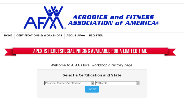 Access Certificationaa Afaa Aerobics And Fitness Personal