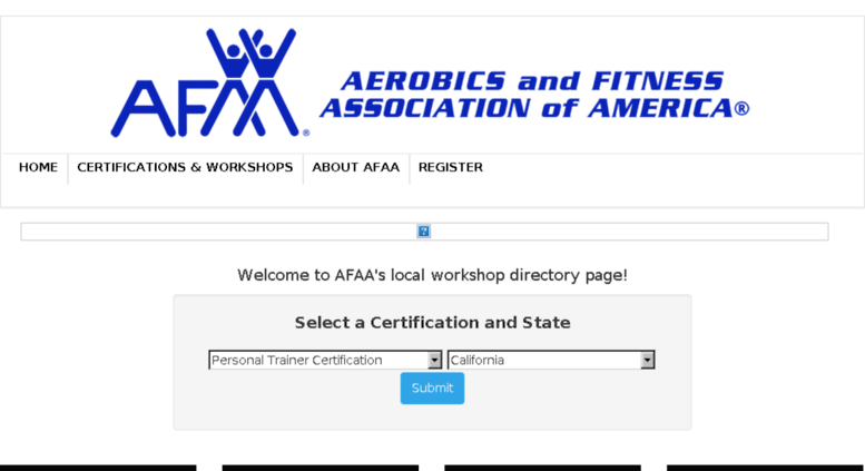 Access Certificationsaa Afaa Aerobics And Fitness Personal
