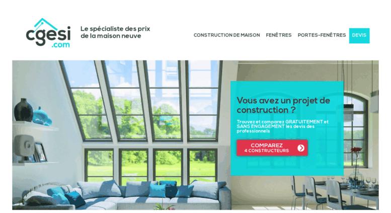 Prix Construction Maison Neuve   CGESI.com