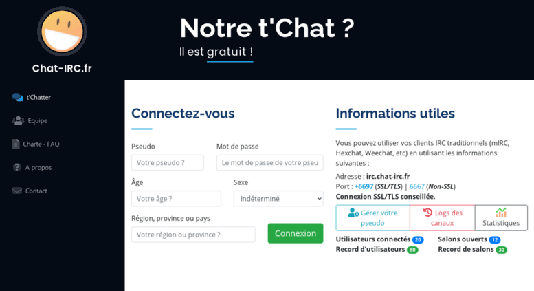 chat irc tchat gratuit sans inscription - Chatt Gratuit