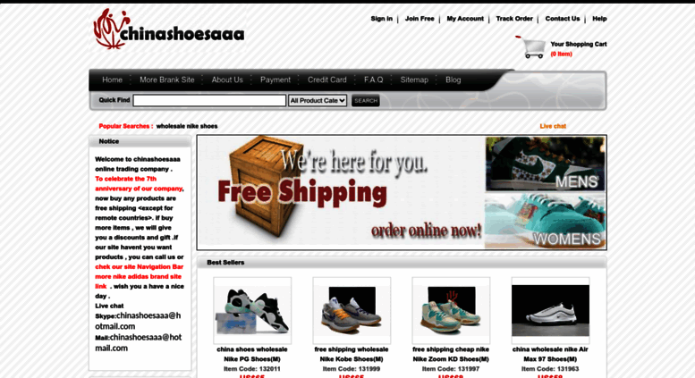 Access chinashoesaaaa.com. buy wholesale nike shoes,wholesale nike jordan  shoes,china wholesale nike shoes,cheap wholesale nike.