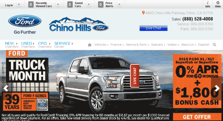 Access chinohillsford.calls.net. Chino Hills Ford Dealer | Los Angeles Chino New Used Car California  sc 1 st  Accessify & Access chinohillsford.calls.net. Chino Hills Ford Dealer | Los ... markmcfarlin.com