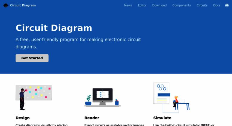 Access circuit-diagram.org. Circuit Diagram - A Circuit Diagram Maker